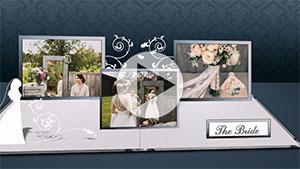professional slideshow templates collection, 3D Wedding Presentation Template Download, Presentation templates