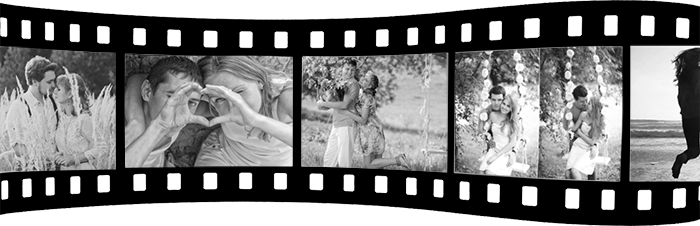Black and white movie effect