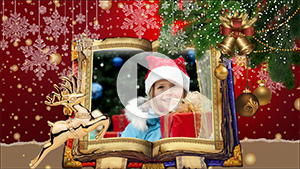 Christmas slideshow template