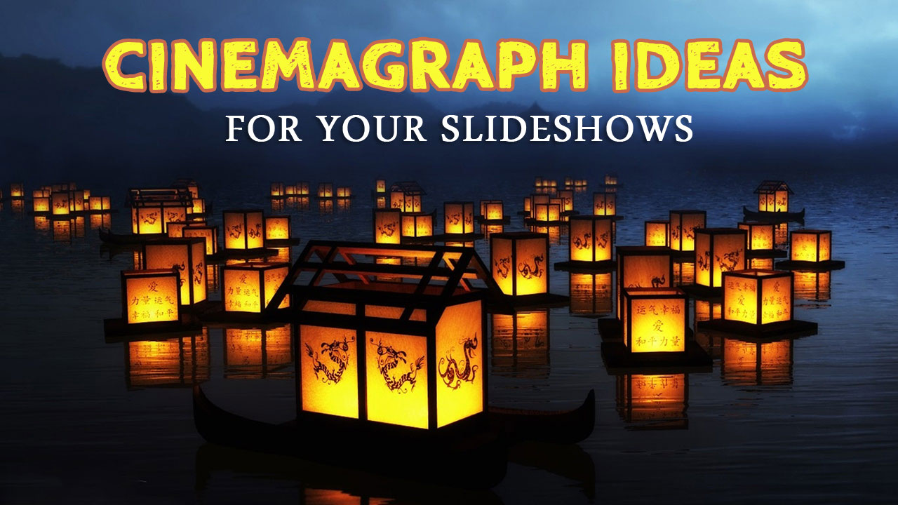Cinemagraph ideas video