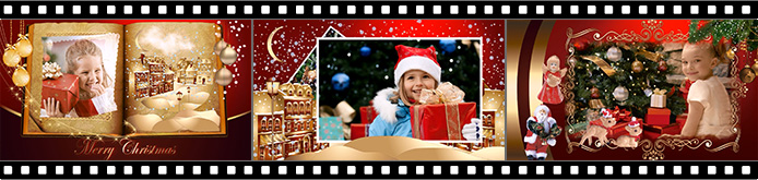 Christmas slideshow templates