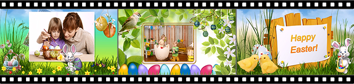 Easter slideshow templates
