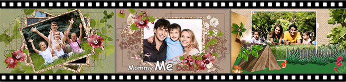 Family slideshow templates