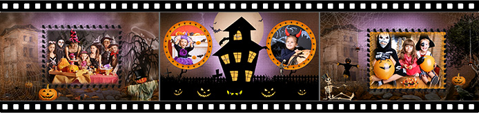 Halloween slideshow templates