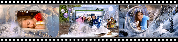 Merry Christmas slideshow templates
