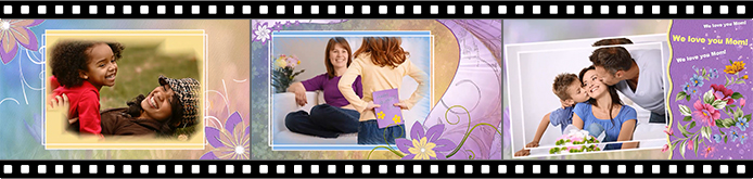 Mother's Day slideshow templates