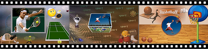 Sports slideshow templates