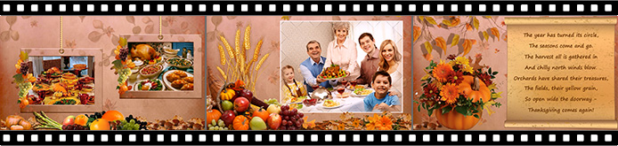 thanksgiving slideshow templates smartshow 3d
