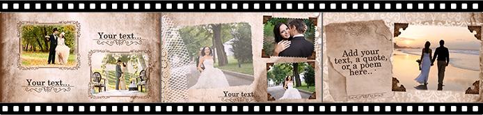 wedding album templates