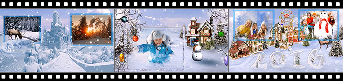 Winter Tale slideshow templates