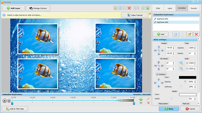 Screenshots dell 39 interfaccia del programma smartshow 3d for Programma 3d semplice